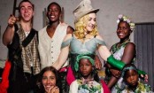 Madonna rings in birthday with kids in Italy