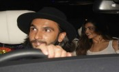 Ranveer Singh took Deepika Padukone to a party