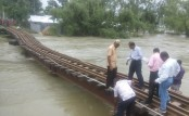 Rail link of Dhaka with southern, northern districts snapped as rail bridge subsides