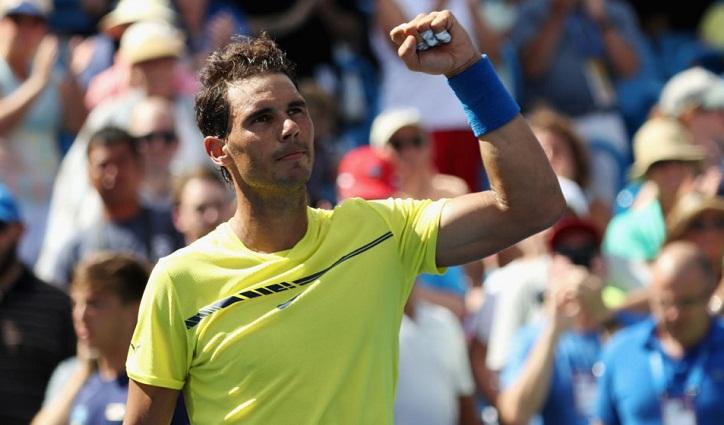 Rafael Nadal back as number one