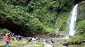 Madhabkundo waterfall reopens to tourists