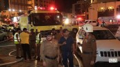 Pilgrims evacuated after Makkah hotel catches fire