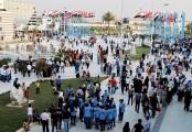 Rocket fire kills six at entrance to Damascus trade fair