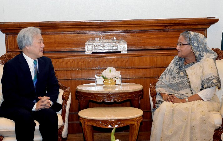 Japan to continue support for Bangladesh's uplift, envoy tells PM