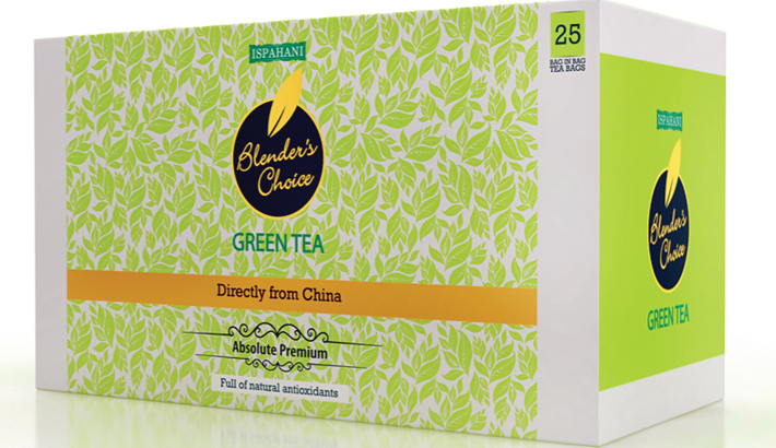 Ispahani Blender's Choice offers  exquisite taste of green tea