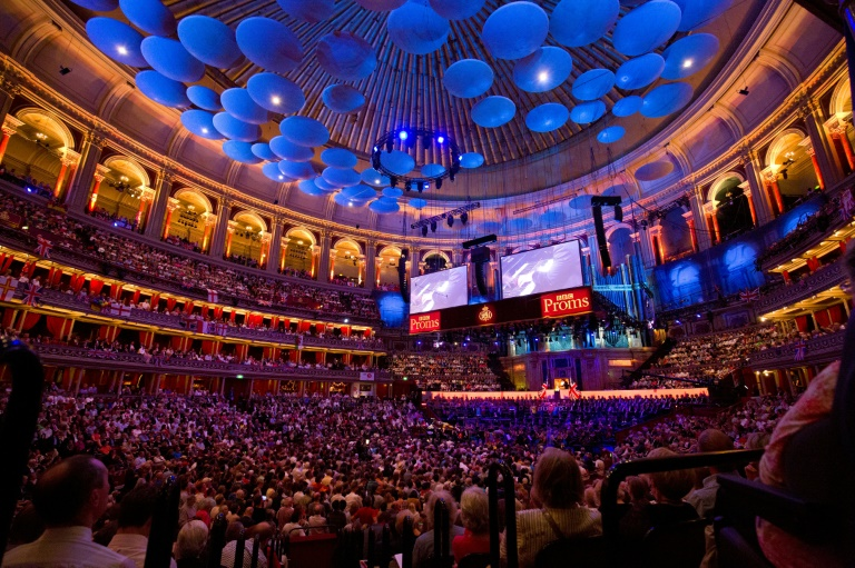 Dancing in the 'gods': A haven for UK concert lovers