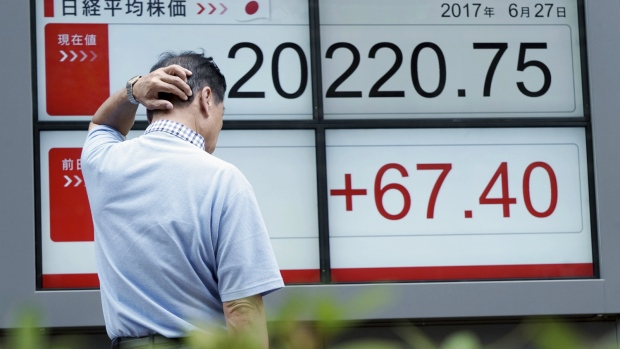 Asian markets rise modestly after Wall Street's sharp gains
