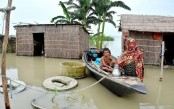 Natore flood situation static