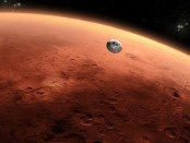 Mars weather: 'Cloudy, chance of nighttime snowstorm'