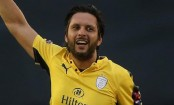 T20 Blast: Shahid Afridi hits 42-ball century as Hampshire thump Derbyshire