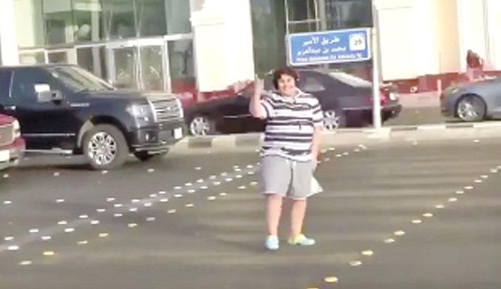 Teenager arrested for  dancing Macarena