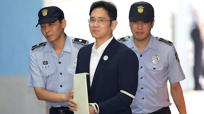 Samsung heir Lee Jae-yong jailed for corruption