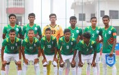 Bangladesh U-15 football team lost to Nepal 2-4 in semis