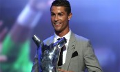 Cristiano Ronaldo named UEFA Player of the Season for 2016-2017