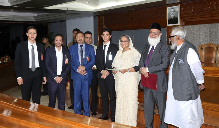 National Bank donates Tk.3.00 crore to PM's Relief Fund to support flood victims