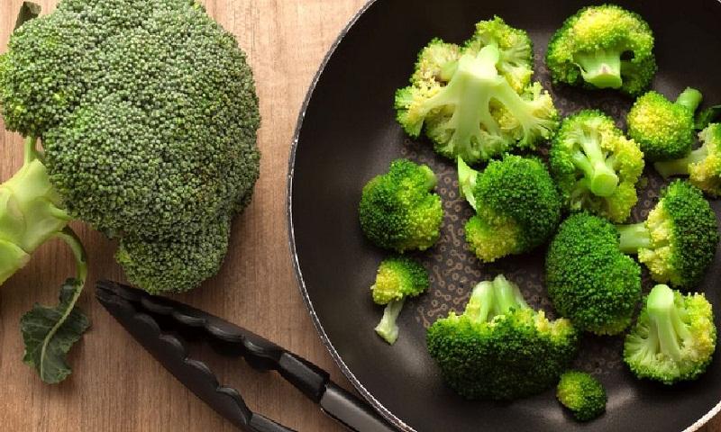 Heal with broccoli