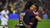 Cavani and Neymar combine as PSG beats Saint-Etienne 3-0