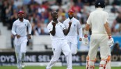 West Indies bowls England out for 258 in 2nd test