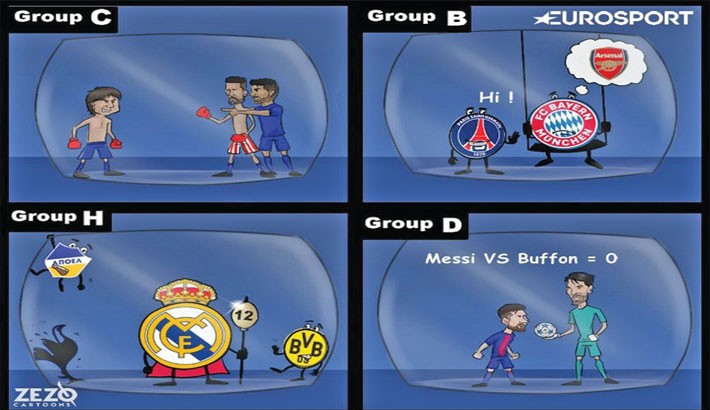 Champions League Draw Held
