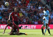 Sterling scores, sent off for sparking melee among City fans