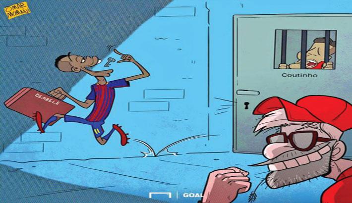 Ousmane Dembele Joins Barcelona