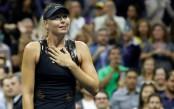 Sharapova stuns Simona Halep on Grand Slam return