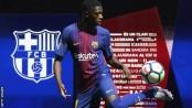 Barcelona complete £135.5m deal for Dortmund forward