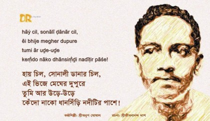 Jibanananda Das's poetry – a great exponent of Bangladesh tourism