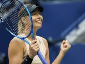 US Open 2017: Maria Sharapova beats Timea Babos to reach third round