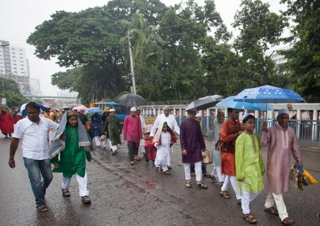 Little chance of rain on Eid day in Dhaka