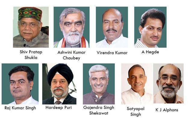 3,4,5,6 of Cabinet reshuffle: How Narendra Modi built his new team
