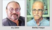 Aly Zaker, Mofidul Haque receive Altaf Mahmud Padak