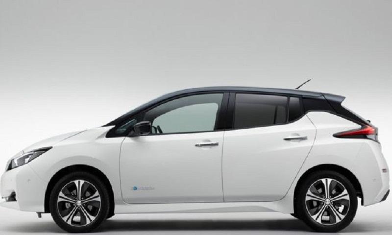 Nissan launches longer-range electric vehicle