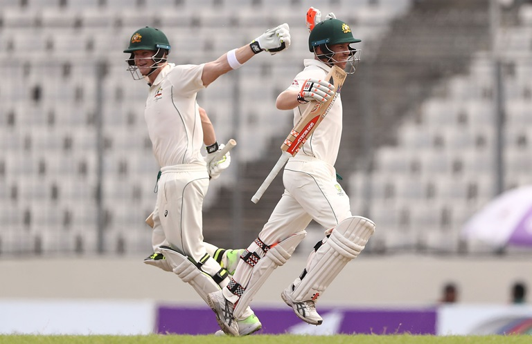 Australia beat Bangladesh by 7 wickets, level series 1-1