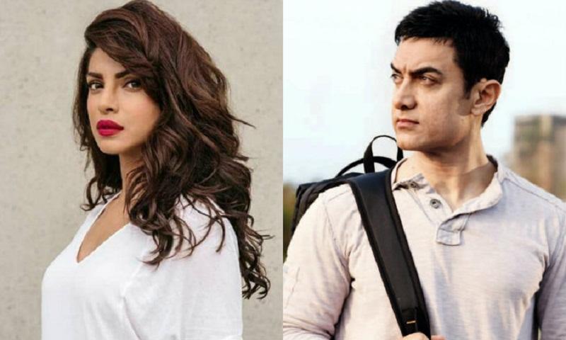 Aamir Khan to romance Priyanka Chopra in 'Salute'