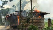 New fires in empty Rohingya village raise questions