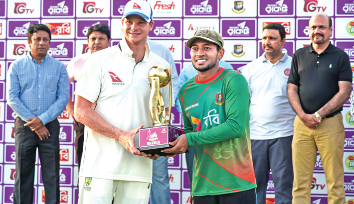 Mushfiq remains positive despite  Ctg Test debacle