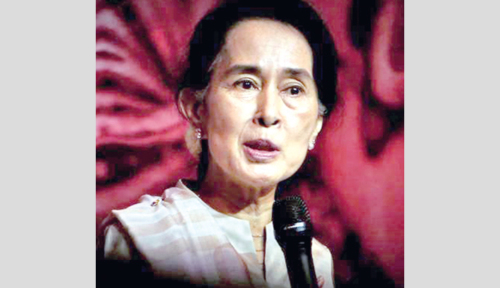 Suu Kyi's global image in tatters