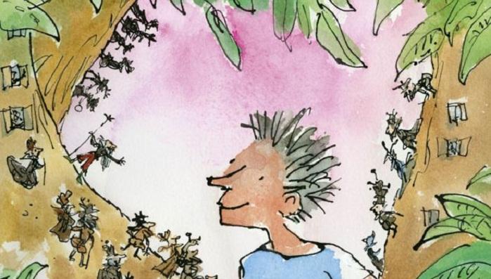 Blake illustrates Roald Dahl's final book, 26 years on