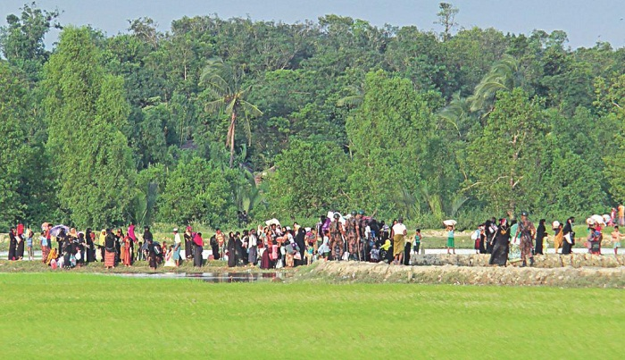 1.64 lakh Myanmar people entered BD since Aug 25: UN