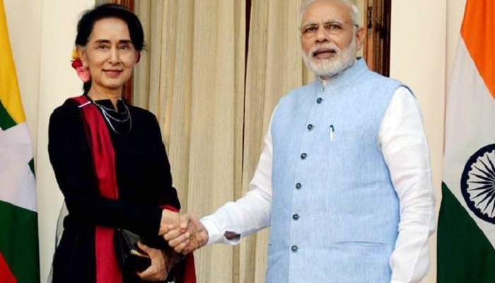 Rakhine situation gets priority during Modi's Myanmar visit
