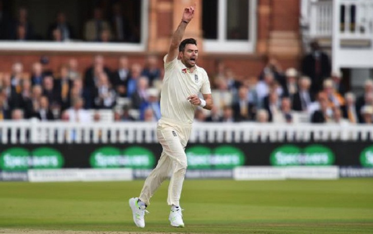 James Anderson on the verge to bag 500th wickets