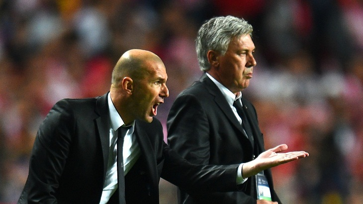 Zidane, Ancelotti want transfer window closed before season start