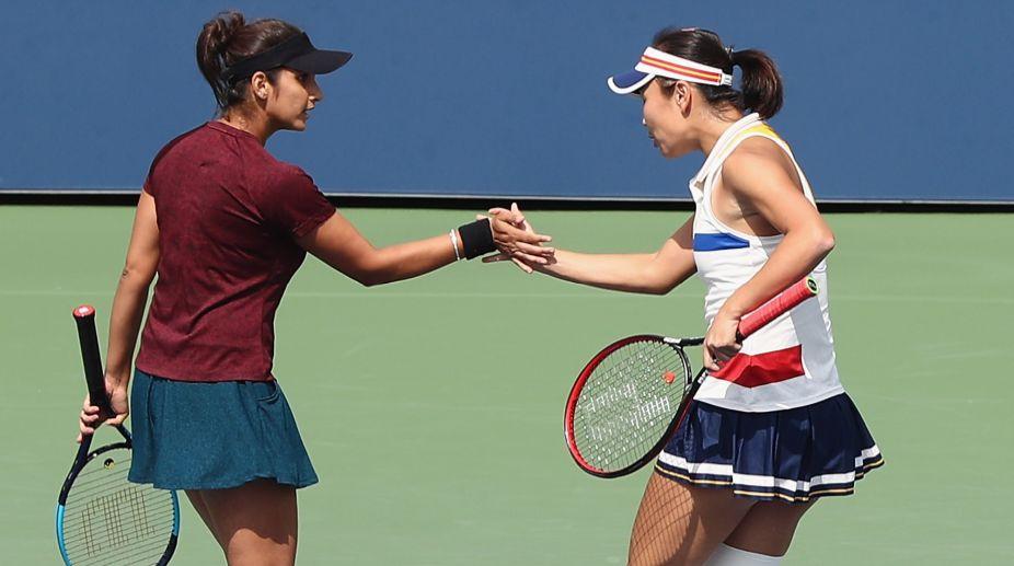 Sania Mirza enters US Open semis