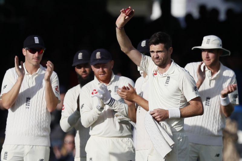 Anderson passes 500 wickets, West Indies leads England by 22 runs