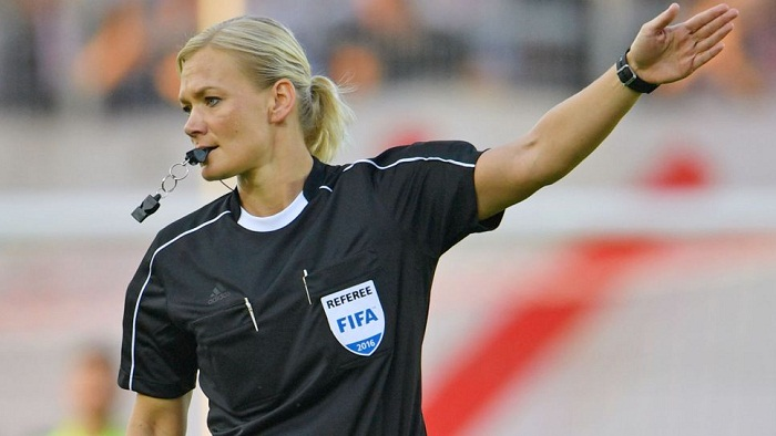 Bundesliga's 1st female referee Steinhaus stepping ground Sunday