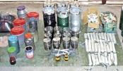 17 bombs, explosives found at Mirpur militant den