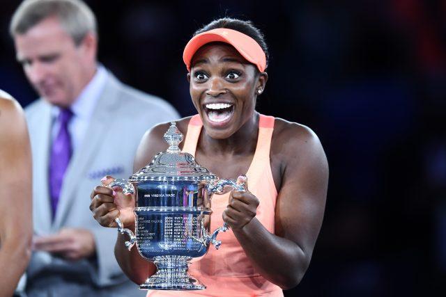 Sloane routs Keys in US Open final