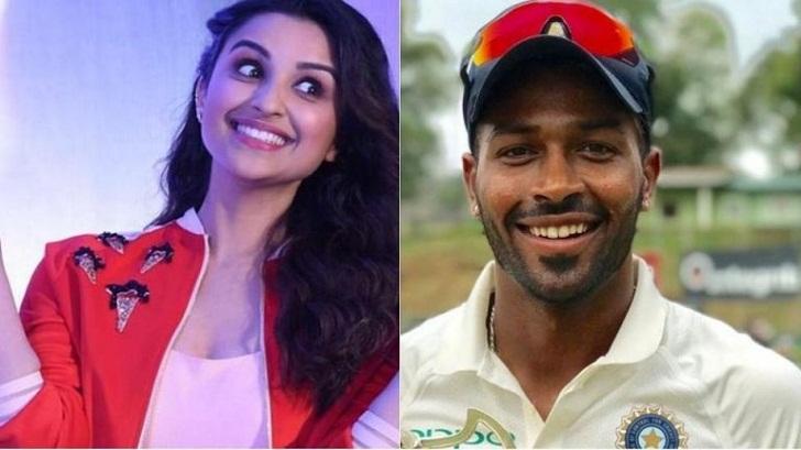 Hardik Pandya rubbishes love talk with Parineeti Chopra