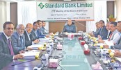 Standard Bank holds  board meeting